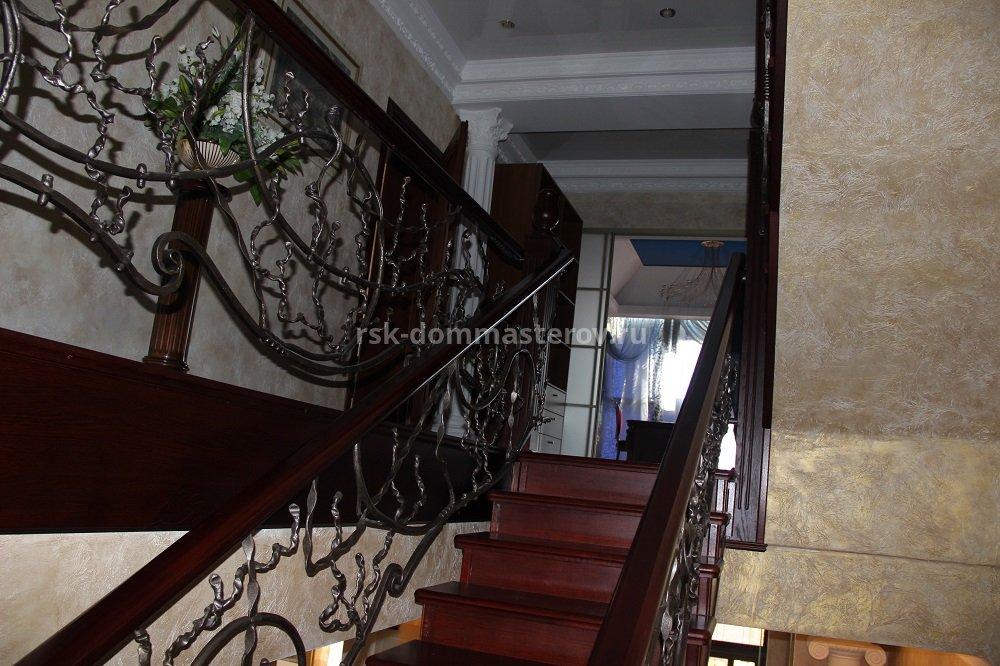 Лестницы 25- пример работы 'РСК ДОМ МАСТЕРОВ'