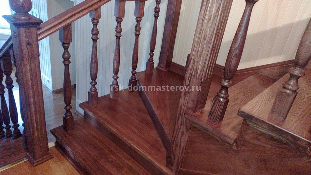 Лестницы 37- пример работы 'РСК ДОМ МАСТЕРОВ'