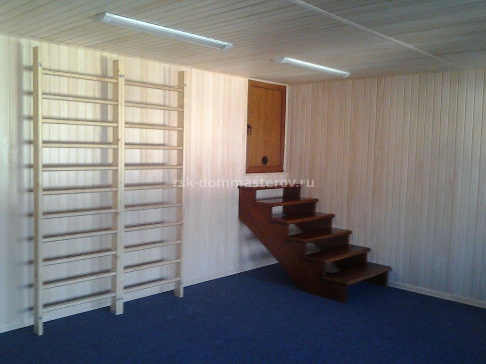 Лестницы 36- пример работы 'РСК ДОМ МАСТЕРОВ'