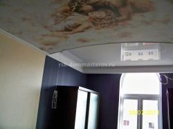 Натяжные потолки 10- пример работы 'РСК ДОМ МАСТЕРОВ'