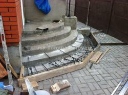Лестницы 17- пример работы 'РСК ДОМ МАСТЕРОВ'
