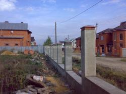 Забор 10- пример работы 'РСК ДОМ МАСТЕРОВ'