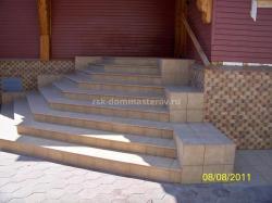 Лестницы 13- пример работы 'РСК ДОМ МАСТЕРОВ'