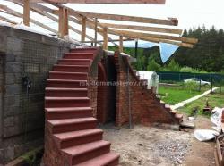 Лестницы 22- пример работы 'РСК ДОМ МАСТЕРОВ'