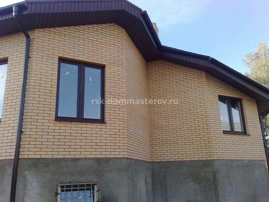 Фасад 18- пример работы 'РСК ДОМ МАСТЕРОВ'