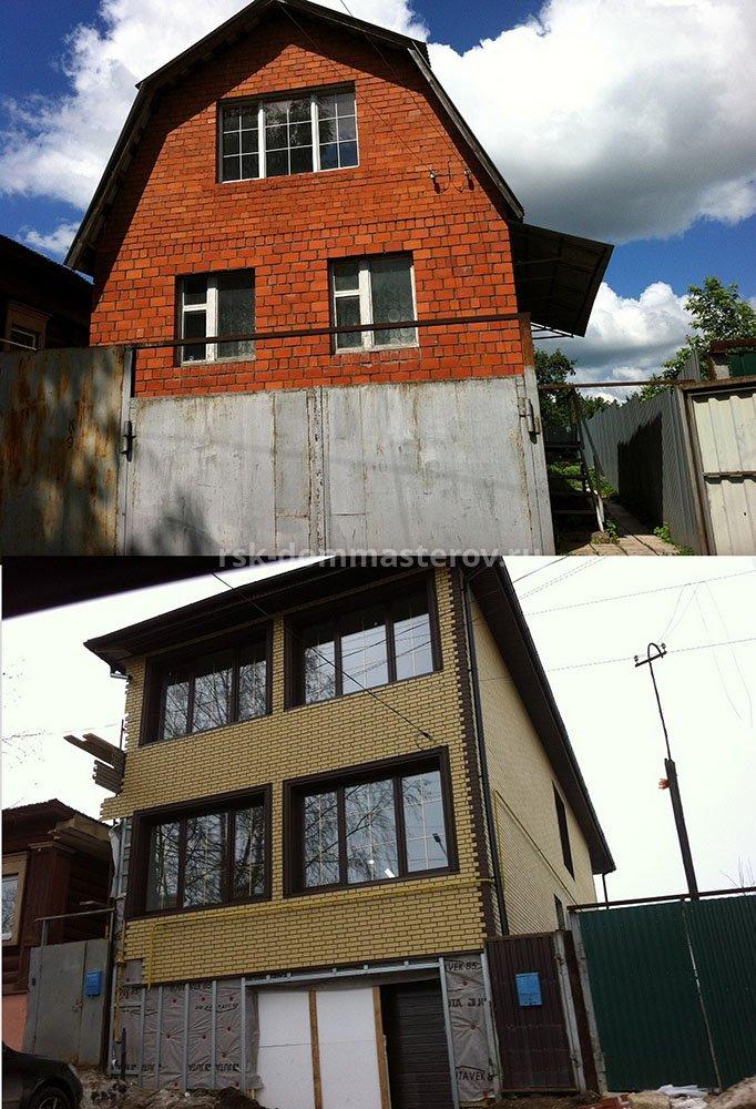 Фасад 22- пример работы 'РСК ДОМ МАСТЕРОВ'