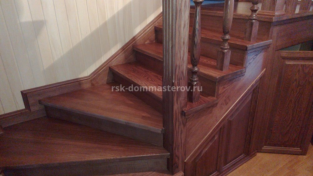 Лестницы 38- пример работы 'РСК ДОМ МАСТЕРОВ'