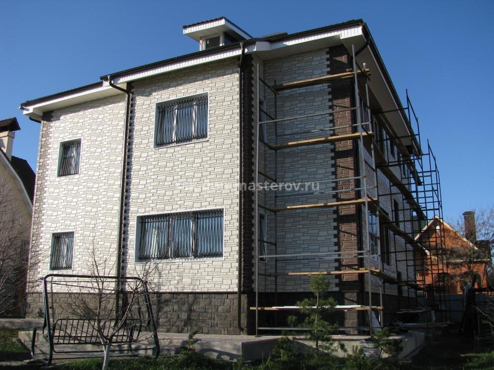 Фасад 6- пример работы 'РСК ДОМ МАСТЕРОВ'