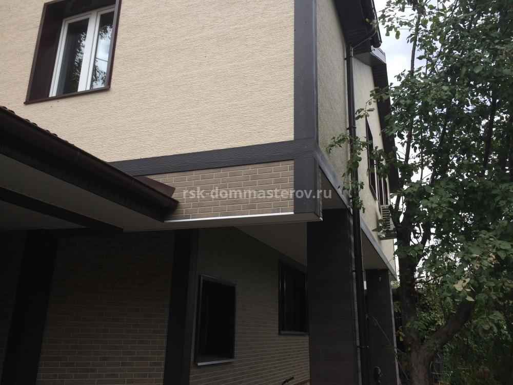 Фасад 4- пример работы 'РСК ДОМ МАСТЕРОВ'