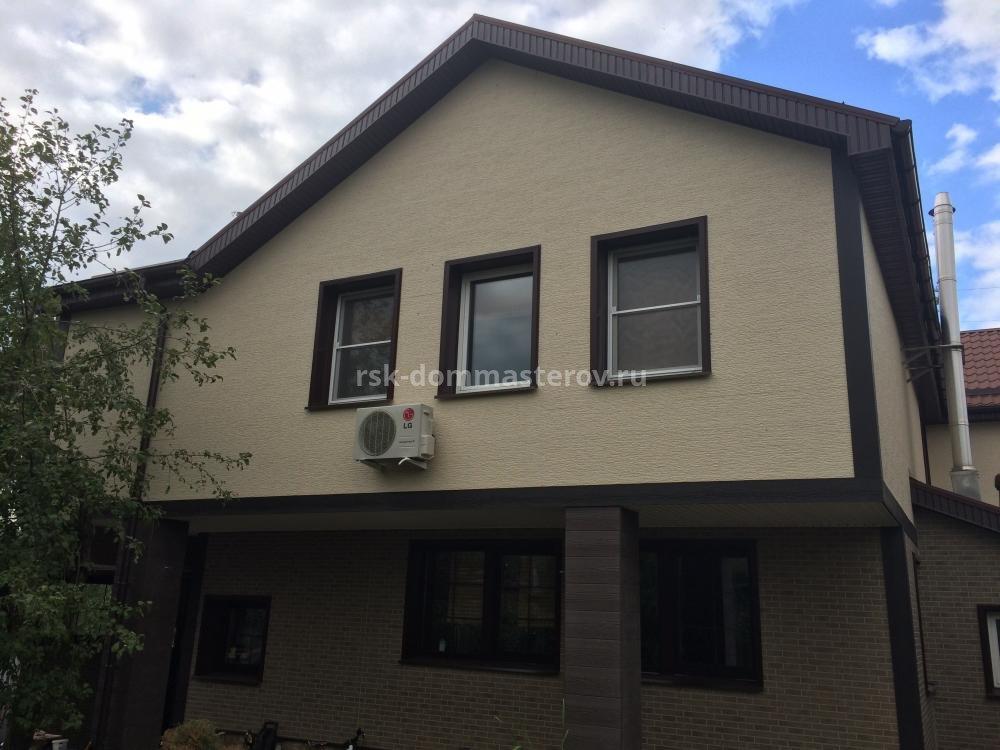 Фасад 3- пример работы 'РСК ДОМ МАСТЕРОВ'