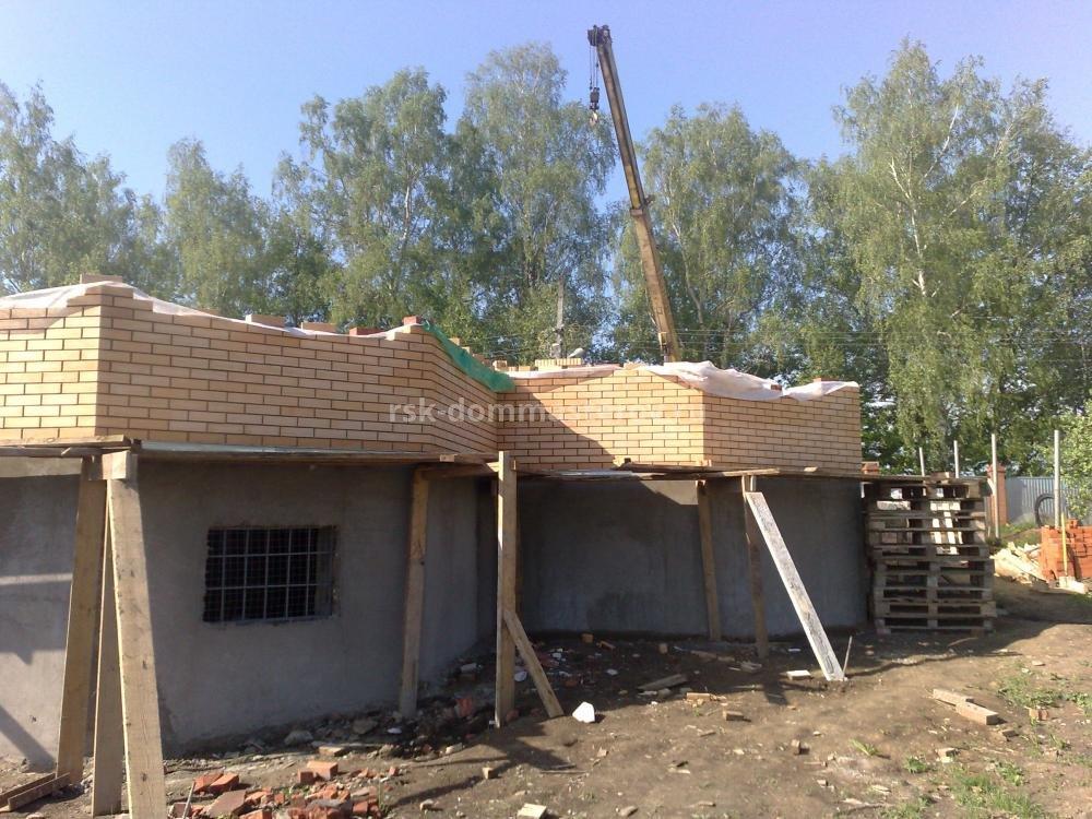 Коробка дома 9- пример работы 'РСК ДОМ МАСТЕРОВ'