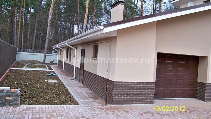 Фасад 1- пример работы 'РСК ДОМ МАСТЕРОВ'