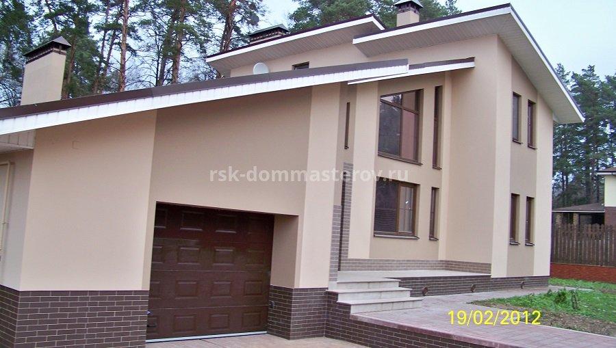 Фасад 2- пример работы 'РСК ДОМ МАСТЕРОВ'