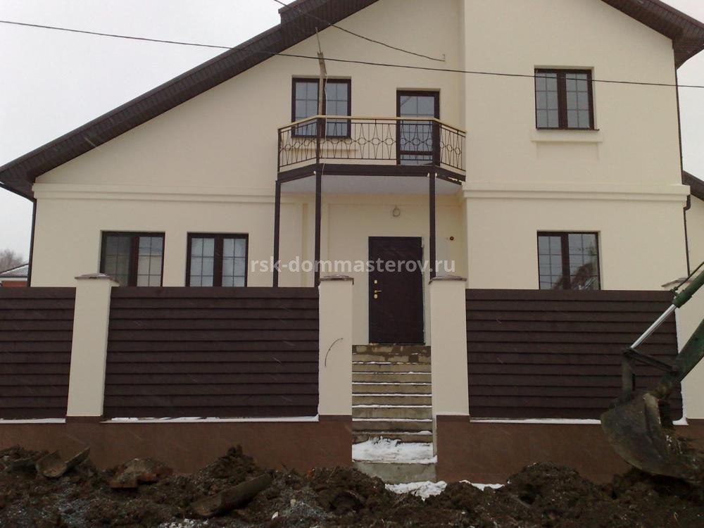Фасад 23- пример работы 'РСК ДОМ МАСТЕРОВ'