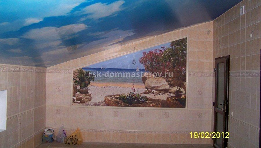 Фреска 6- пример работы 'РСК ДОМ МАСТЕРОВ'