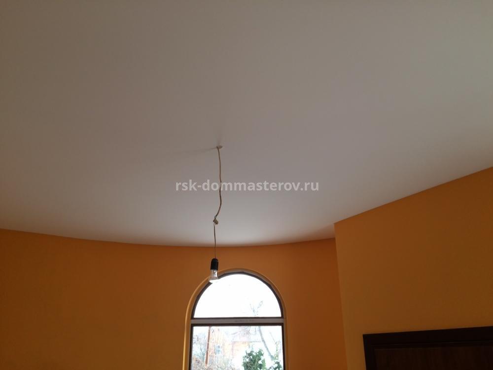 Натяжные потолки 16- пример работы 'РСК ДОМ МАСТЕРОВ'