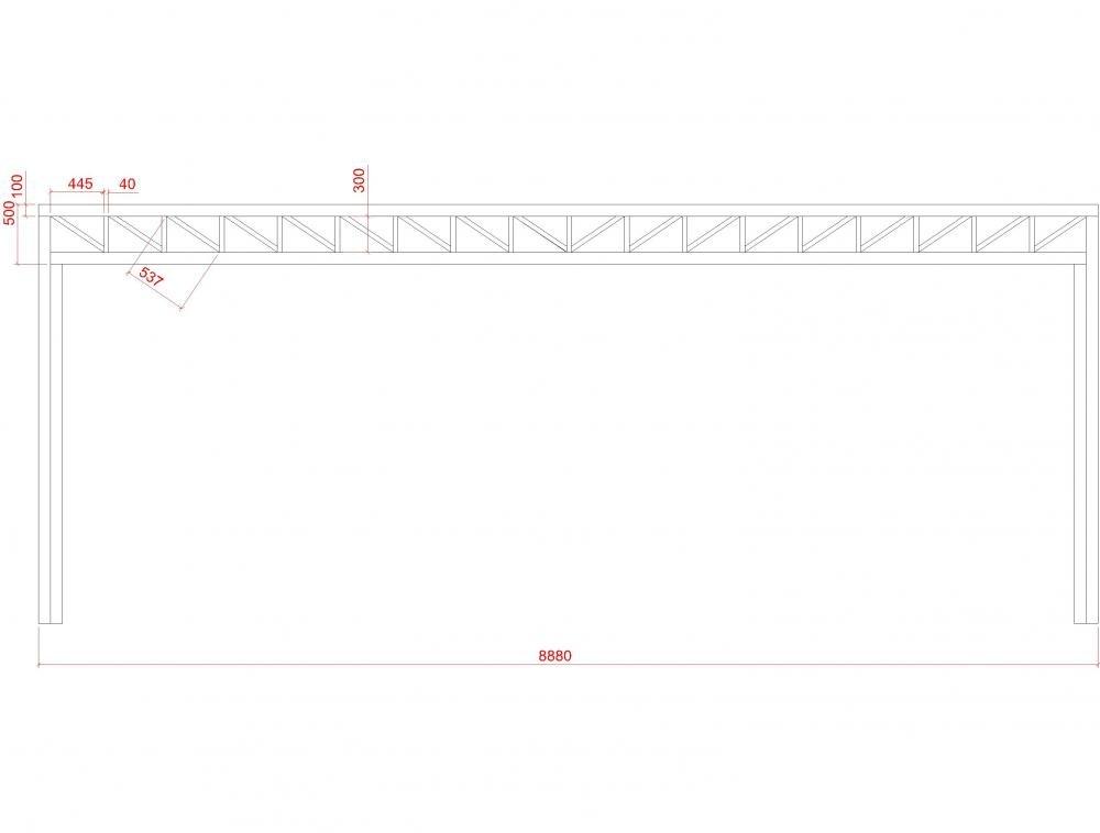 Металлоконструкции 37- пример работы 'РСК ДОМ МАСТЕРОВ'