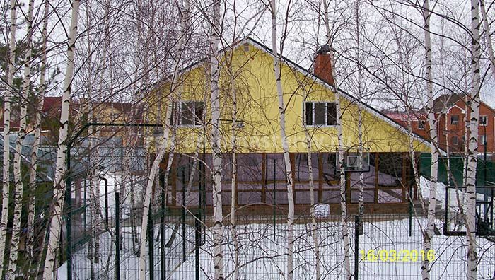 Фасад 10- пример работы 'РСК ДОМ МАСТЕРОВ'