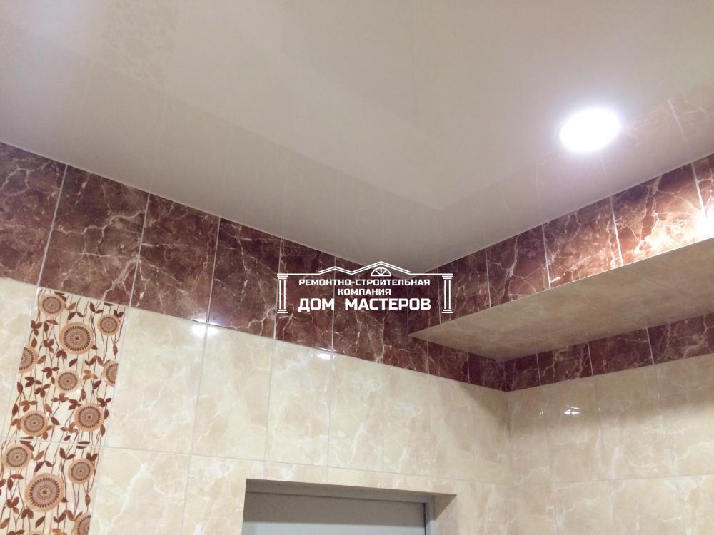 Натяжные потолки 32- пример работы 'РСК ДОМ МАСТЕРОВ'